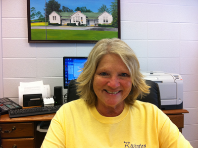 Dr. Theresa Harden, Principal of Rosinton Elementary