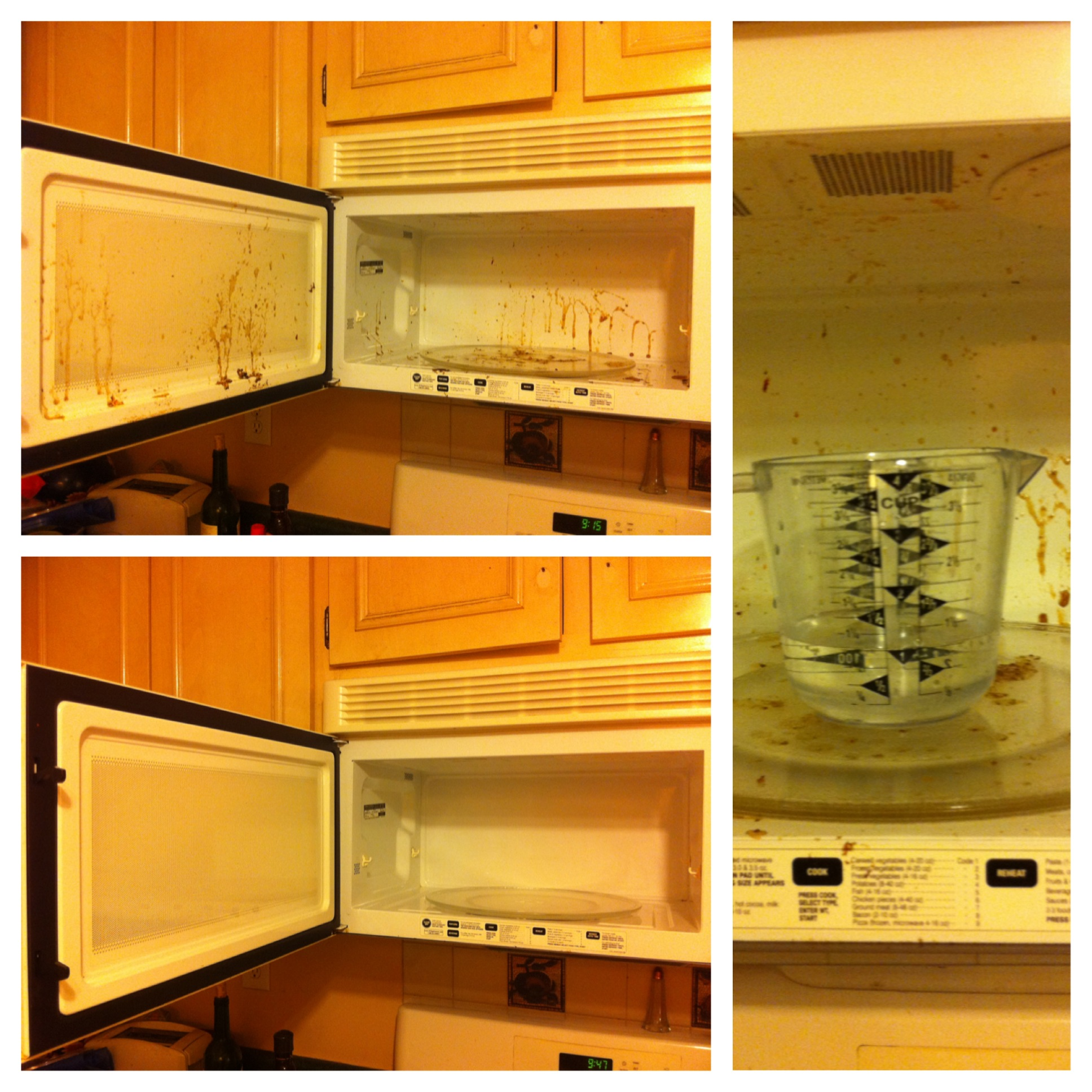 How to Easily Clean a Microwave Using Vinegar