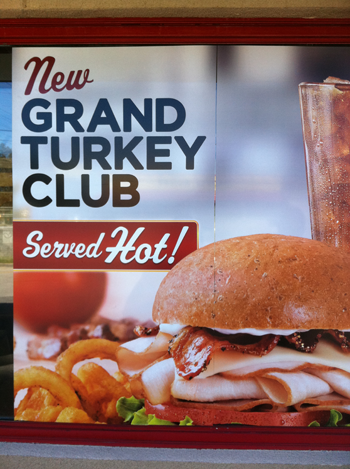 Arby's Grand Turkey Club