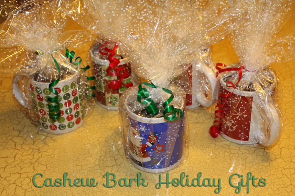 Cashew Bark Holiday Gifts