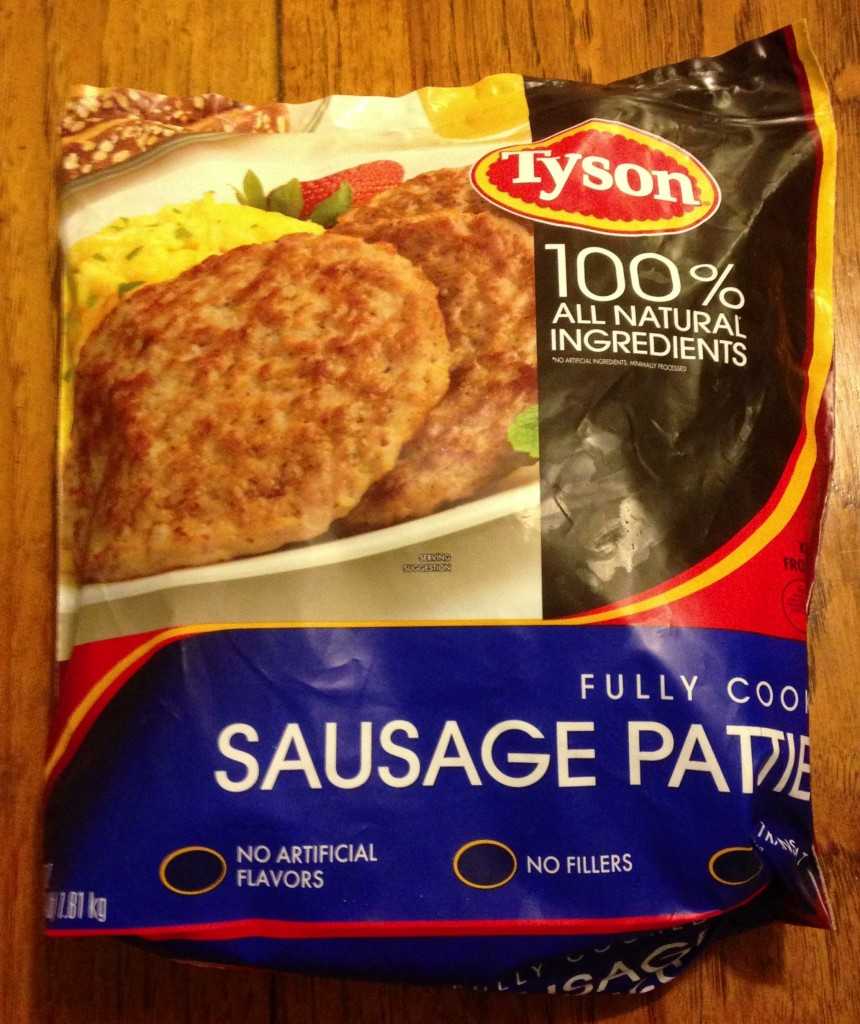 Tyson Fully Cooked Sausage