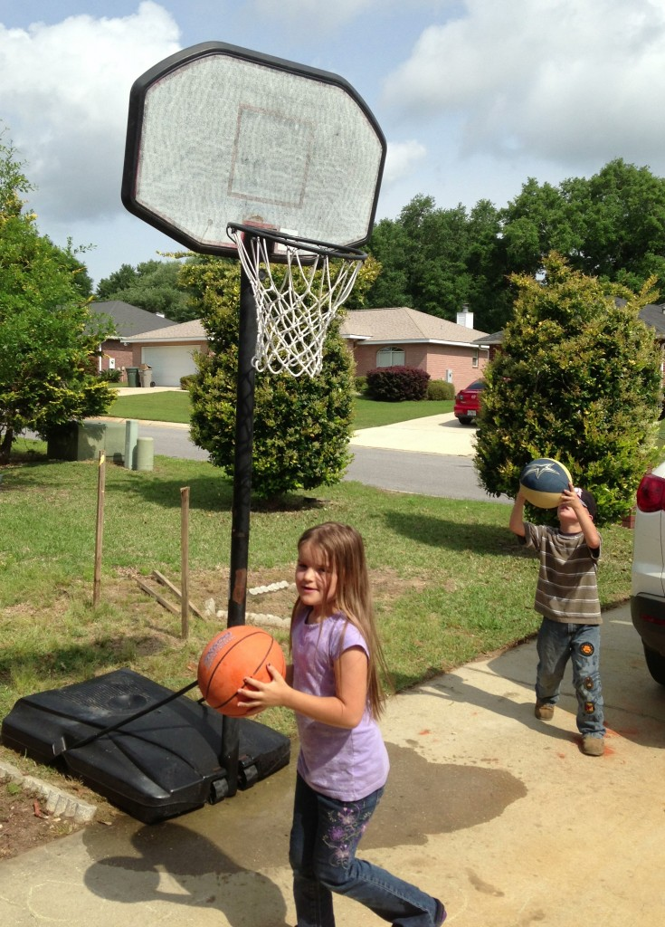 Freecycle Basketball Hoop