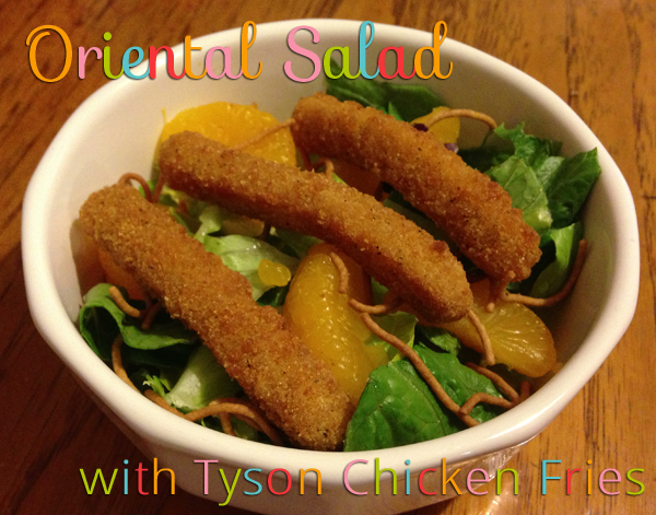 Tyson Oriental Chicken Salad