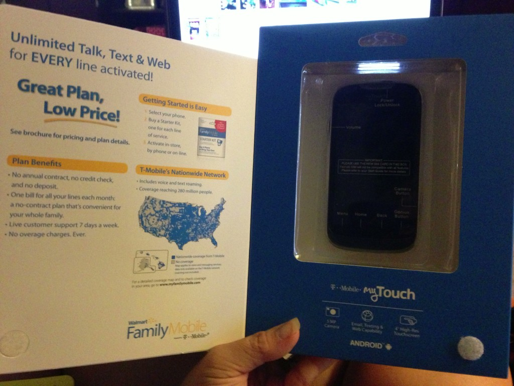 Saving with Walmart Family Mobile #shop