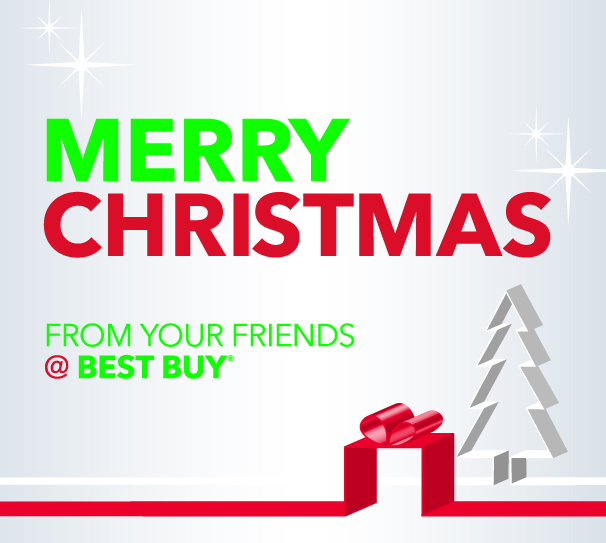 Merry Christmas from Best Buy