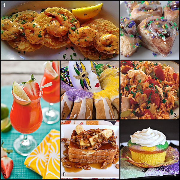 Mardi Gras Tuesday Recipes