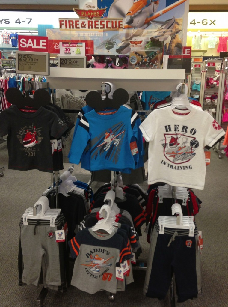 Kohl's #MagicAtPlay Planes: Fire and Rescue Clothes