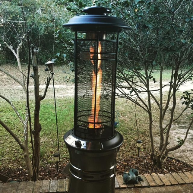 Whoohoo  got my new patio heater setup just inhellip