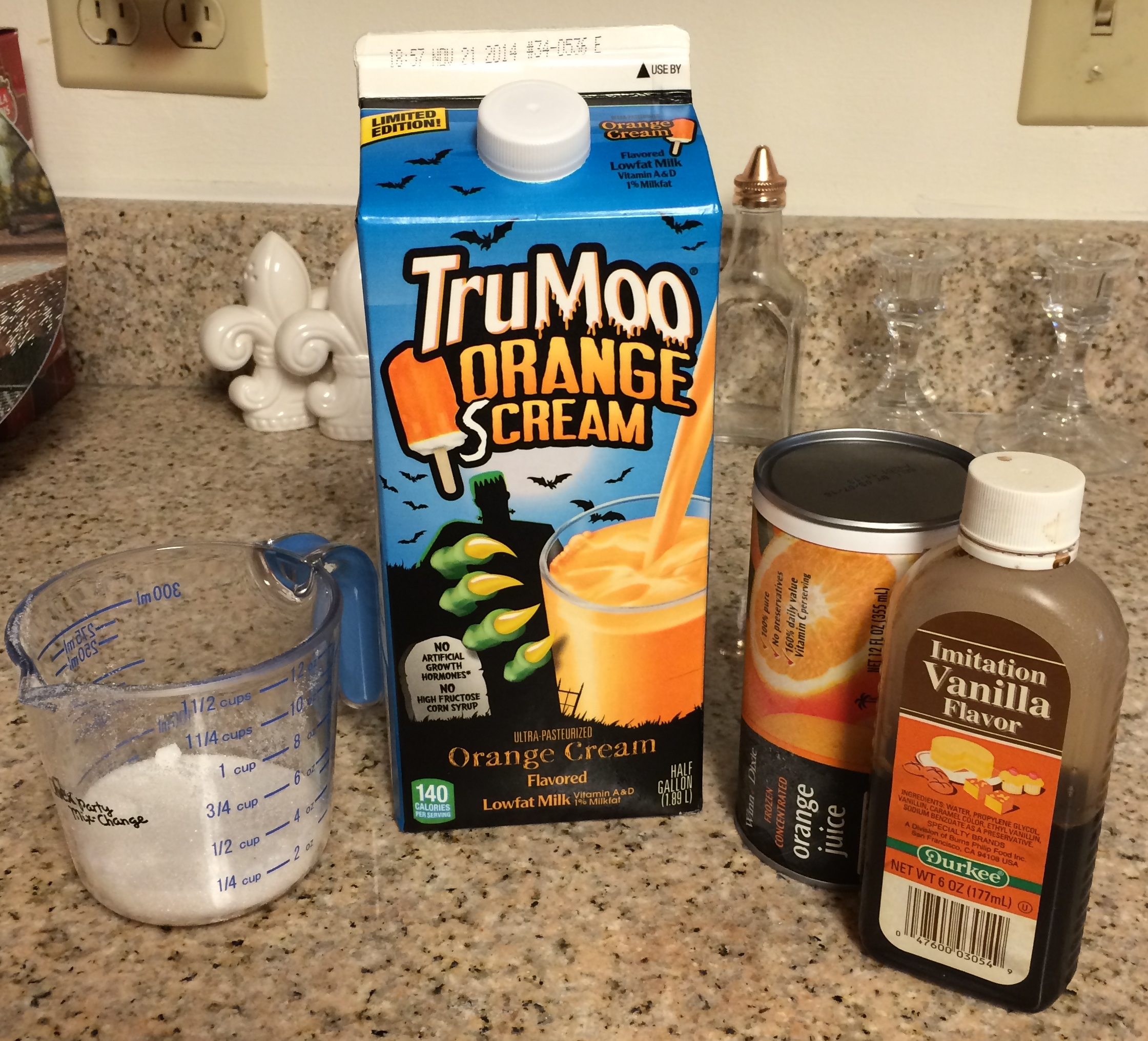 Orange Julius Style Smoothies with TruMoo Orange Milk