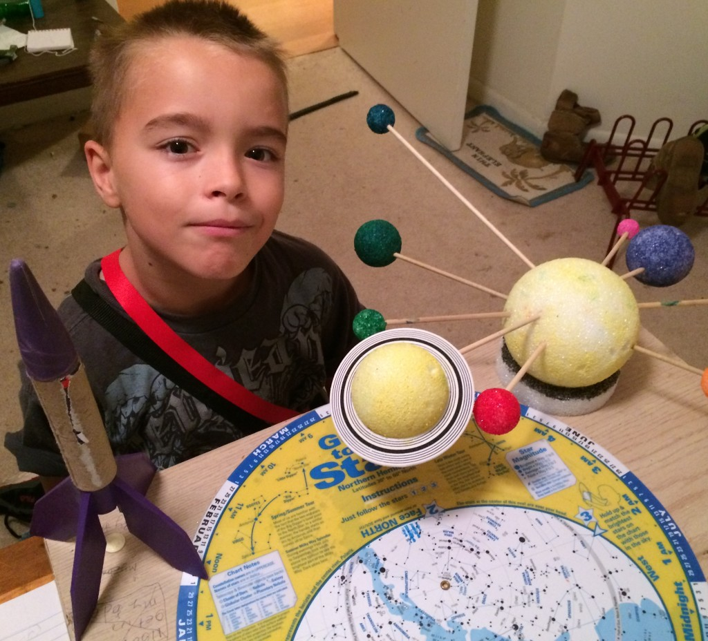 Zachary and his planets