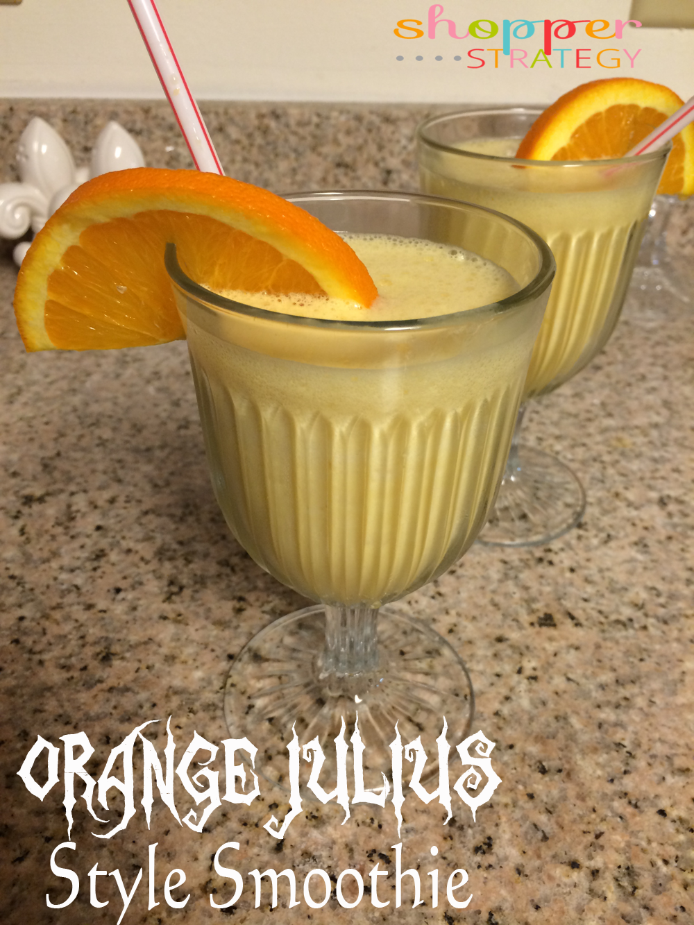 Orange Julius Style Smoothies with TruMoo