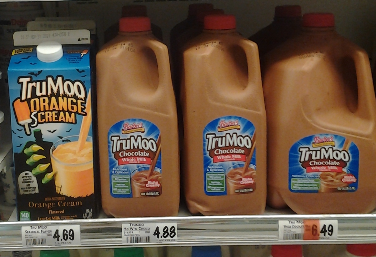 TruMoo Orange sCream Flavored Milk
