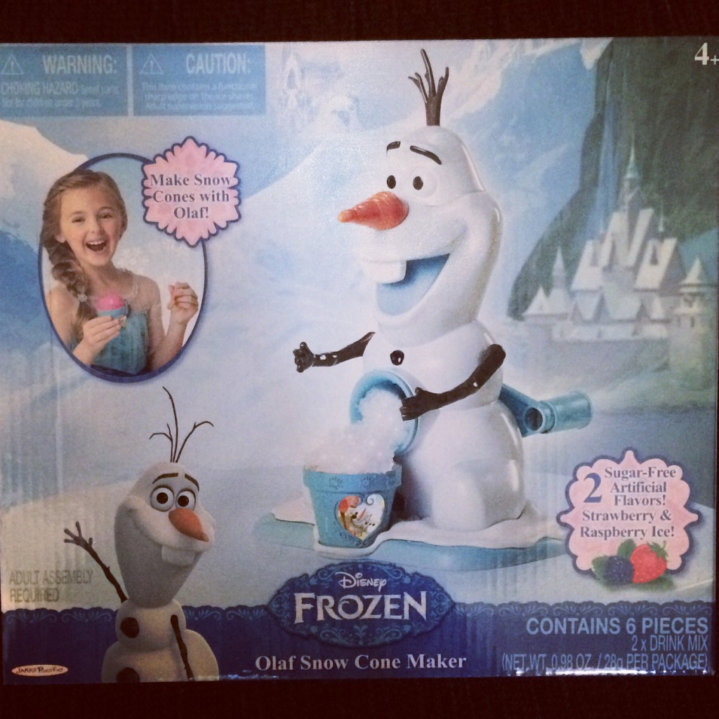 Frozen Olaf Snow Cone Maker