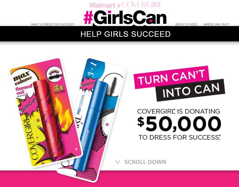 COVERGIRL #GirlsCan