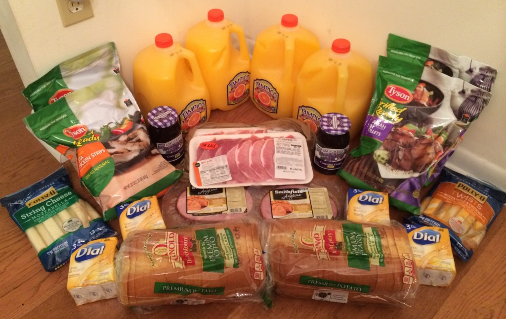 My 6/3 Publix Trip - $93.97 for $35.61 or 62% Off