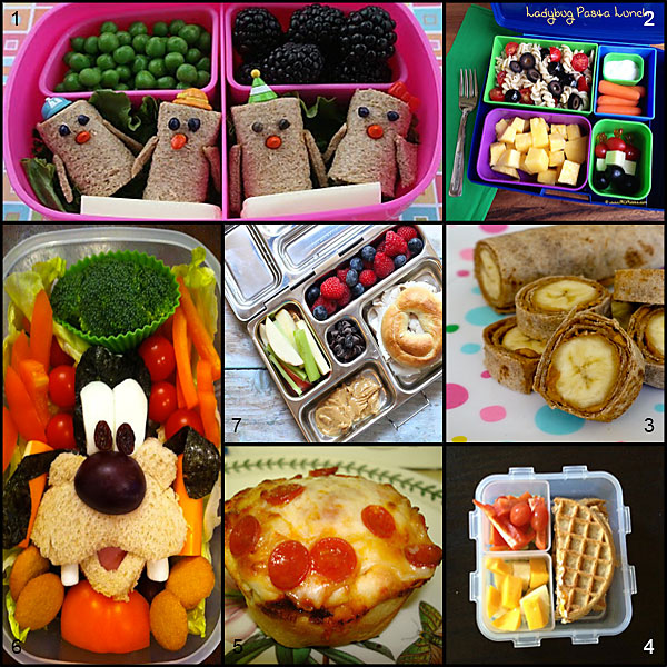 Tasty Tuesday: Fun and Healthy School Lunches