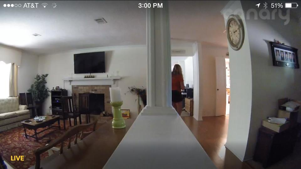 Canary Security System Screenshot