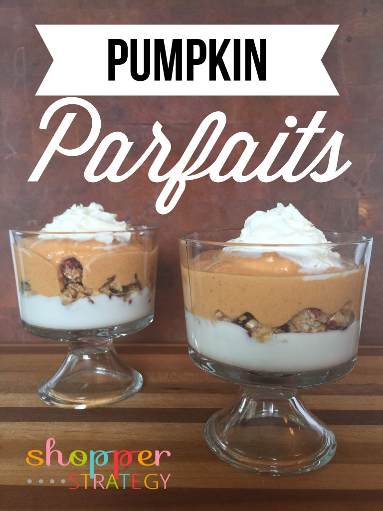 Delicious Pumpkin Parfait Recipe
