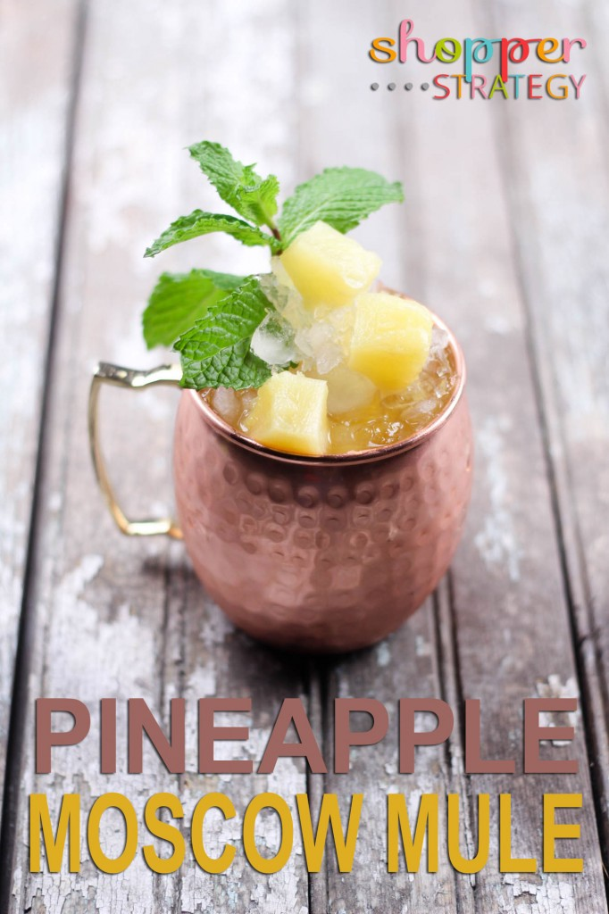 Cocktail Recipe: Pineapple Moscow Mule
