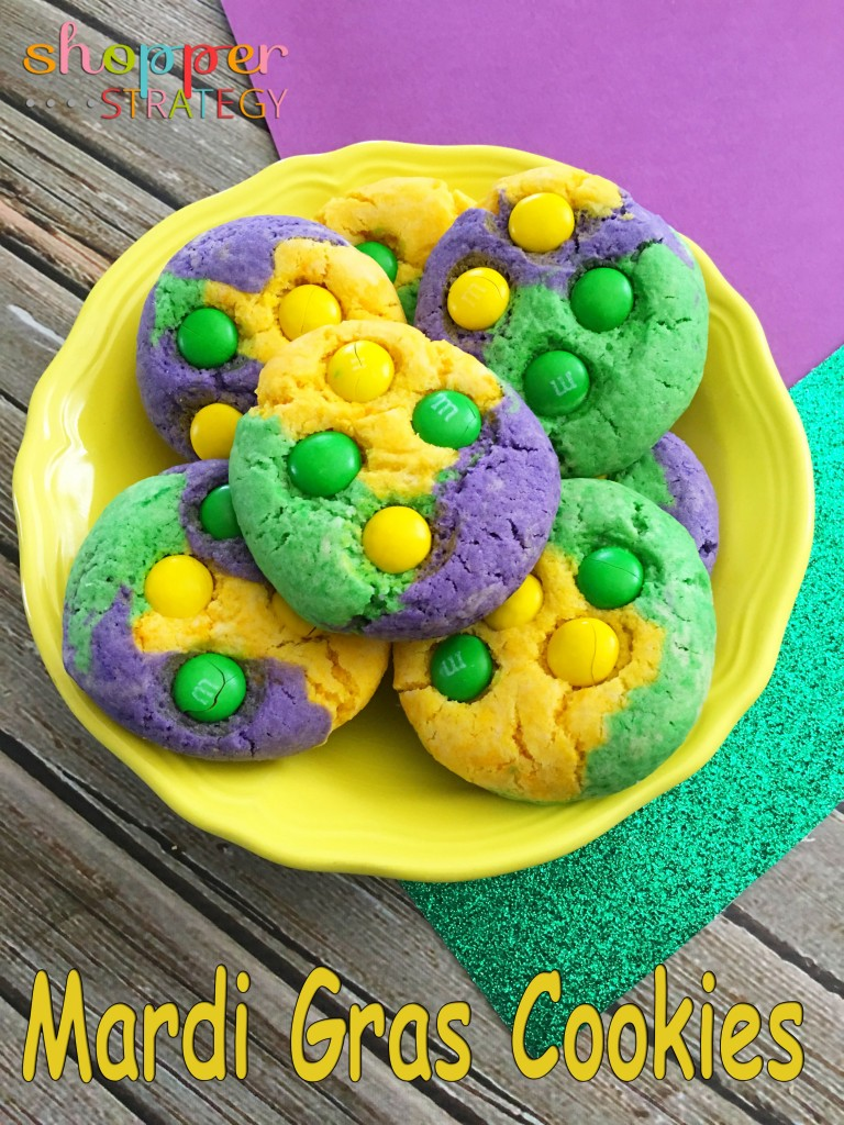 Mardi Gras Cookie Recipe