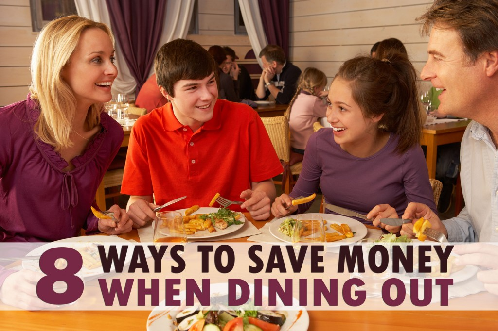 8 Ways to Save Money When Dining Out
