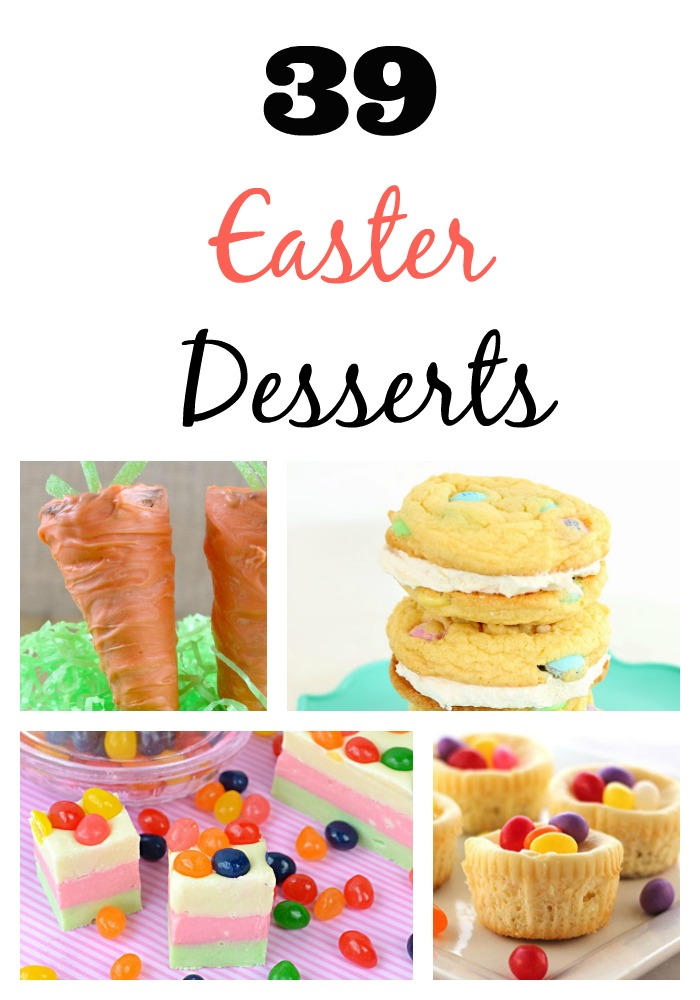 39 Favorite Easter Desserts