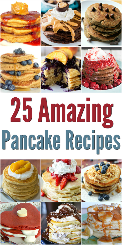 25 Amazing Pancake Recipes