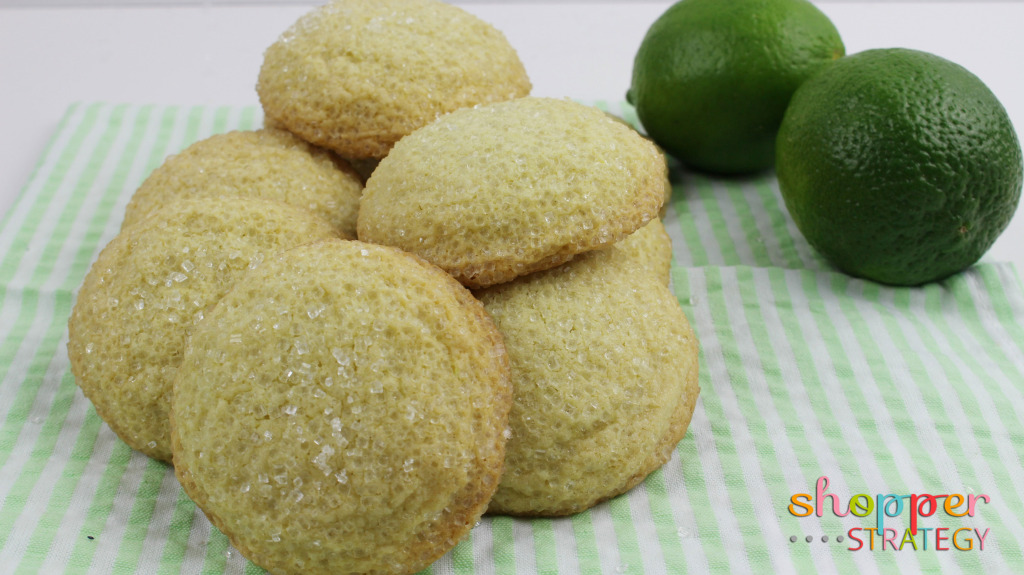 Margarita Lime Cookies Recipe