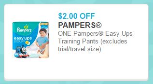 Pampers Easy Ups PAH coupon