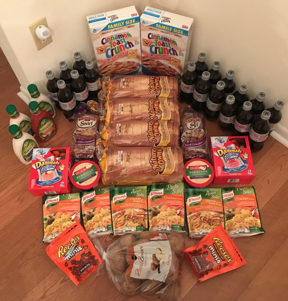 My 6/1 Publix Trip - $91.86 for $35.60 or 61% Off
