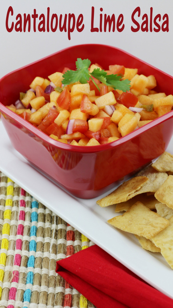 Cantaloupe Lime Salsa Recipe