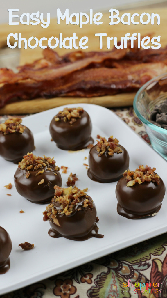 Easy Chocolate Maple Bacon Truffles Recipe