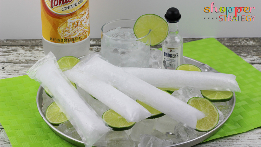 Cocktail Recipe: Gin and Tonic Pops