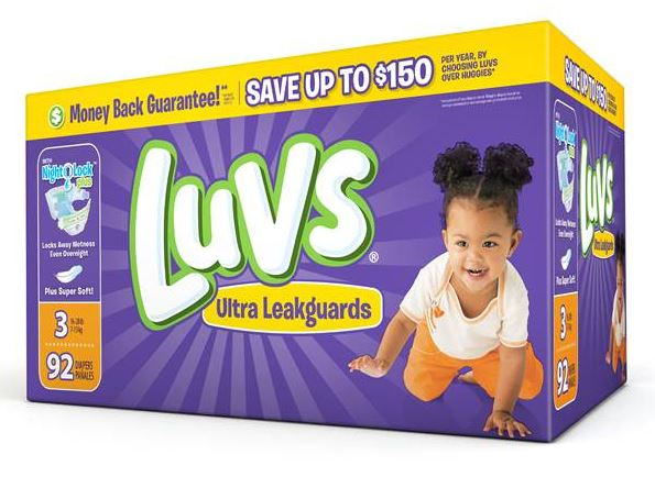 Grab Some Great Deals on Luvs Diapers