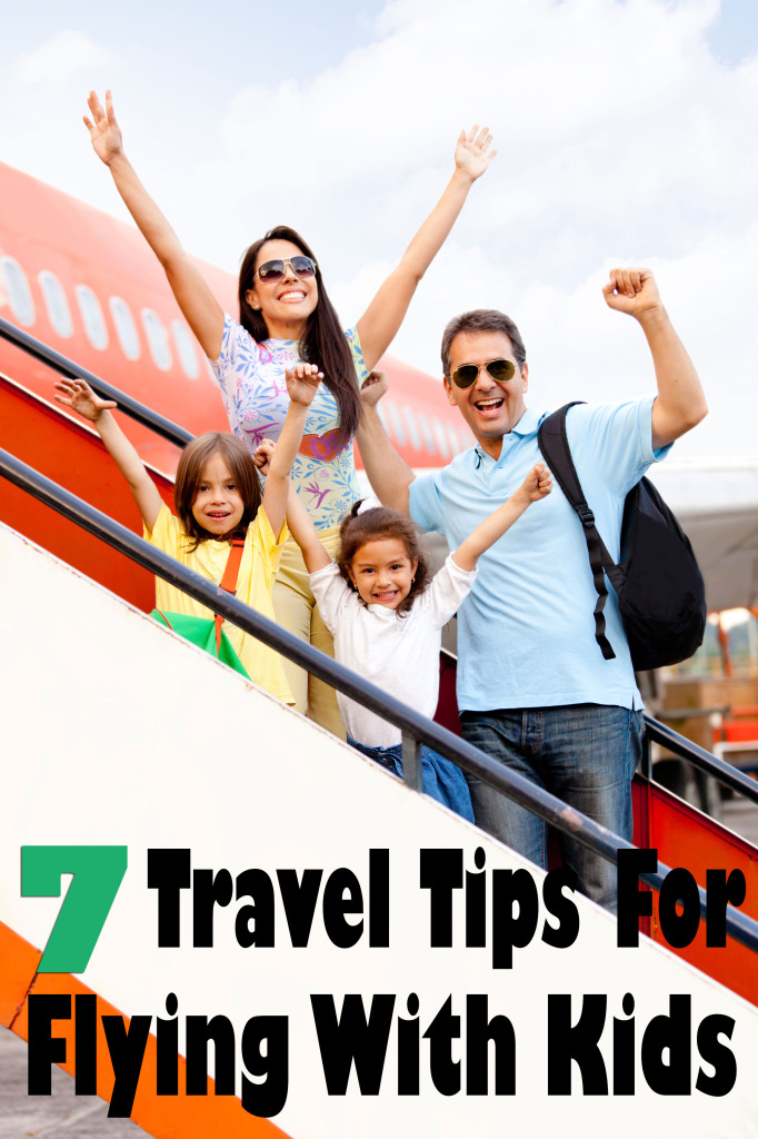 7 Travel Tips to Remember When Flying with Kids