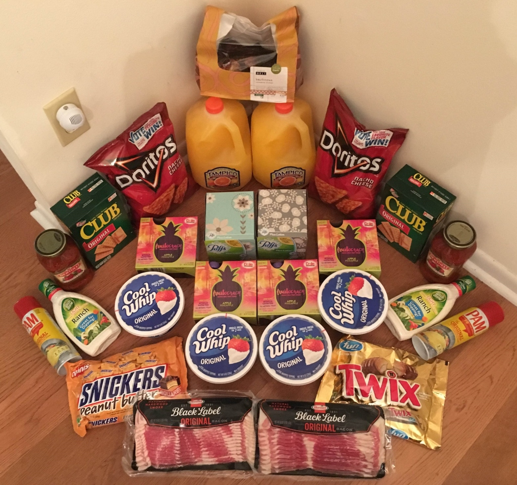 My 10/5 Publix Trip - $92.43 for $34.47 or 63% Off