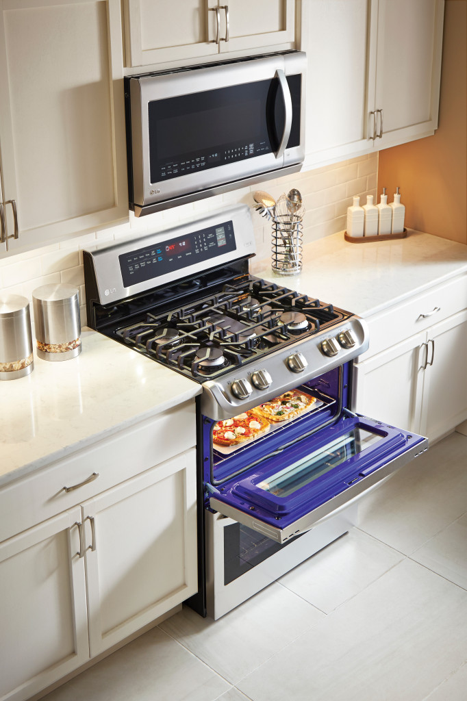 Prep for the Holidays with the LG ProBake Double Oven