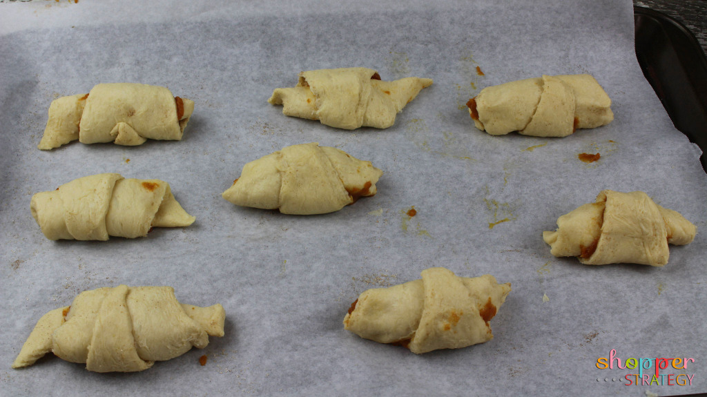 Pumpkin Spice Crescent Rolls Recipe