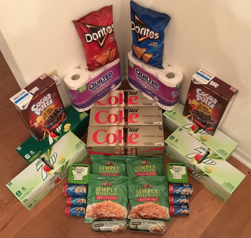 My 11/2 Publix Trip - $98.99 for $35.25 or 64% Off