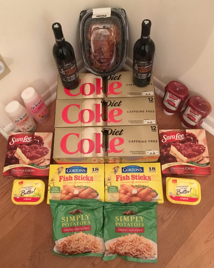 My 2/8 Publix Trip - $100.62 for $39.64 or 61% Off
