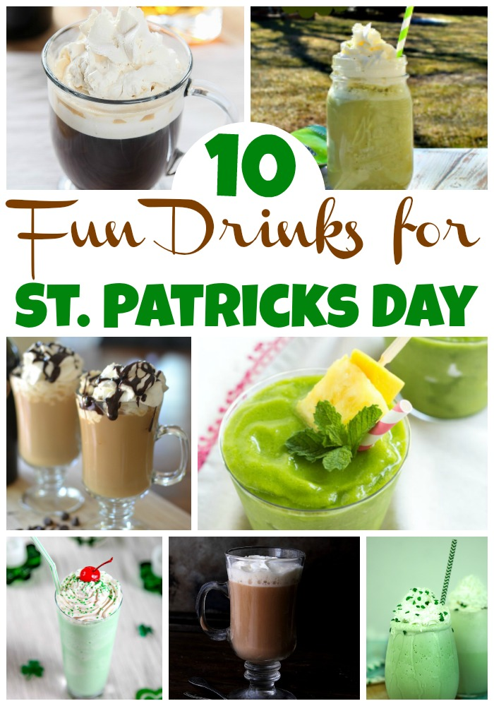 10 Super Fun St. Patrick's Day Drinks
