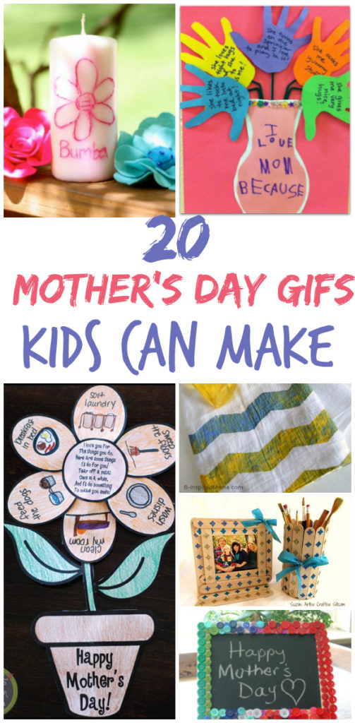 20 Things Kids Can Make For Mothers Day
