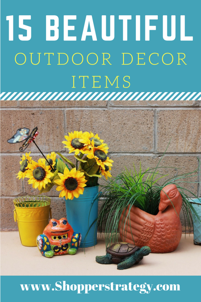 15 Fabulous Outdoor Decor Ideas