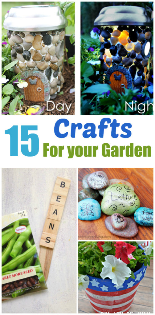 15 Fun and Creative DIY Outdoor Decor Crafts
