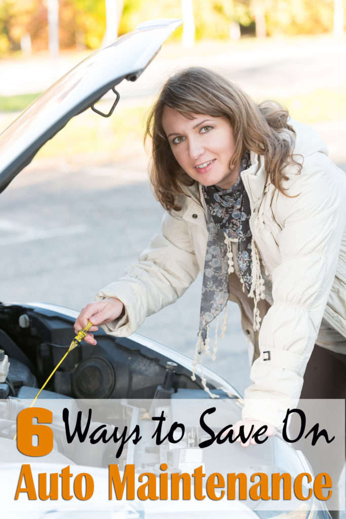 6 Ways to Save Money on Auto Maintenance