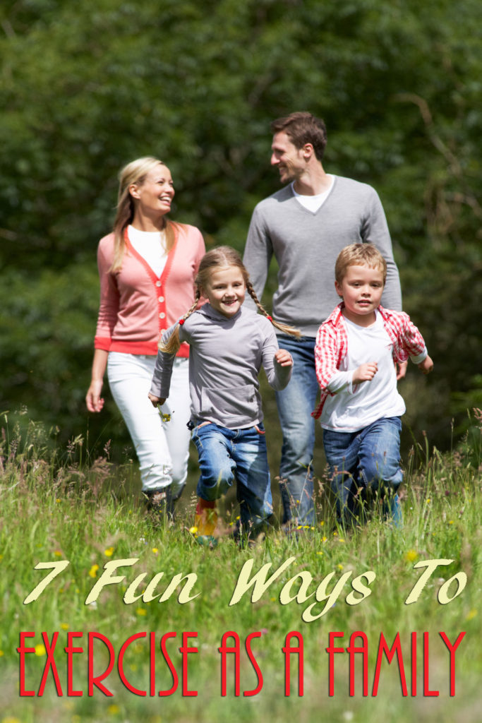 7 Fun Ways to Exercise as a Family