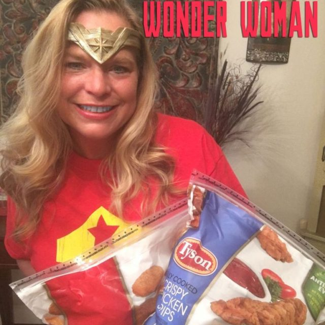 How Tyson Chicken Strips Help Me Look Like Wonder Womanhellip