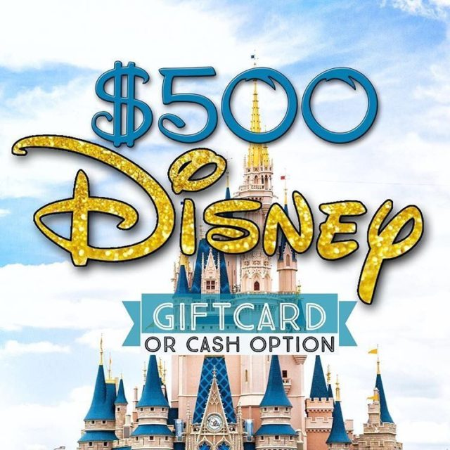 Next stopgt xoxolipstickjunkie Win a 500 Disney giftcard! We wanthellip