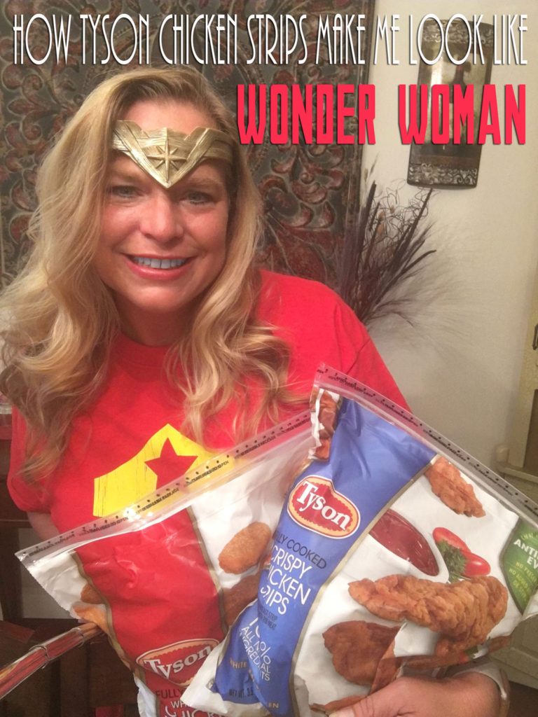 How Tyson Chicken Strips Help Me Look Like Wonder Woman