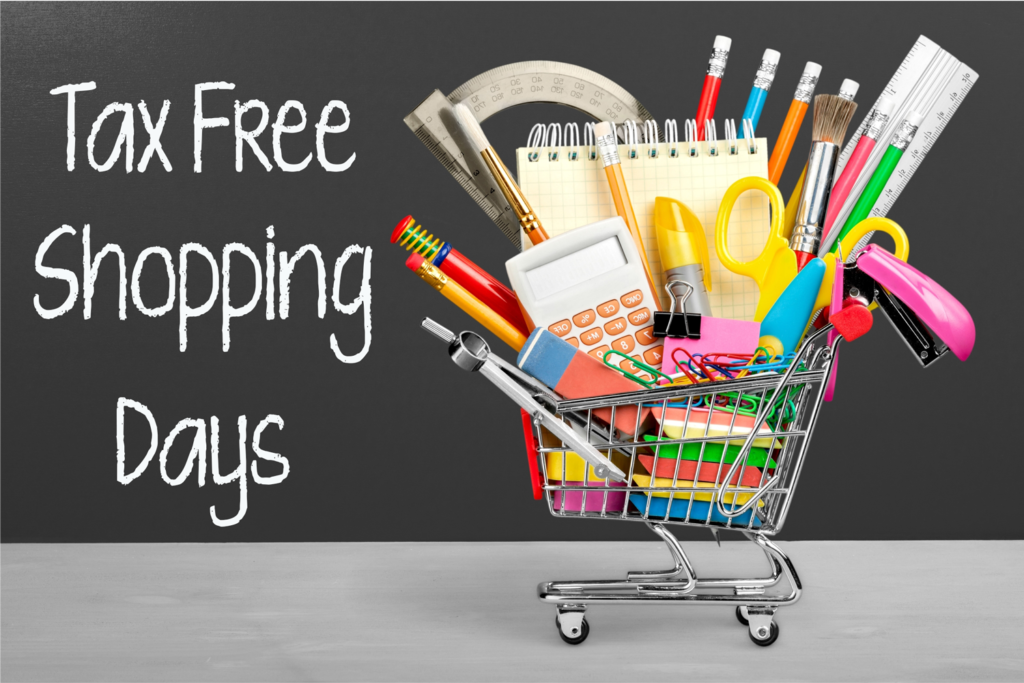 Take Advantage of Your State's Tax Free Shopping Days